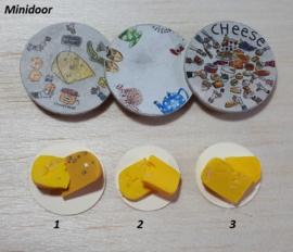 Plateau met stukjes kaas (4)