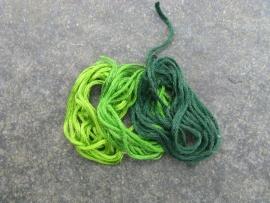 DMC - 3 kleuren groen