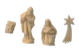 Kerstbeeldjes (4 delig)