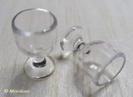 Wijnglas Bol (acryl)