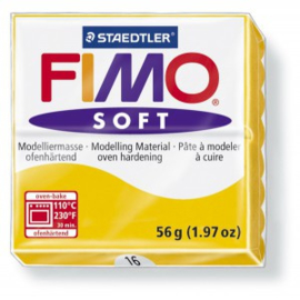 FIMO Soft - nr.16 - Zonnebloem Geel