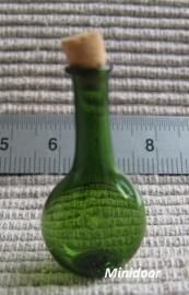 Groen halsflesje