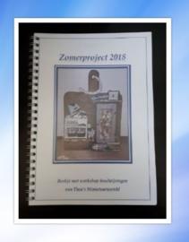 """Boekje """"Zomerproject 2018"""""""