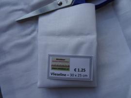 Vlieseline - strijk (wit)