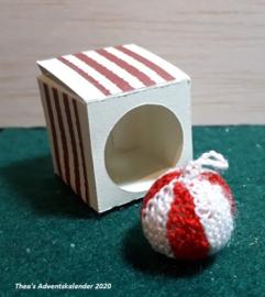 Gebreide Kerstbal (zelf maken)