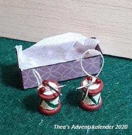 Kerstdecoratie: Trommeltjes (3) - (zelf maken)