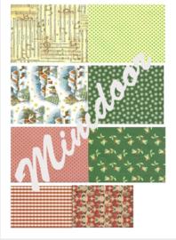 A4 Printvel: Kerstpapier B
