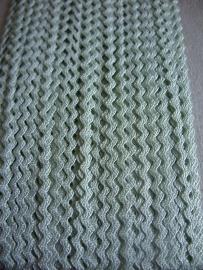 Zigzag 2 mm - Licht groen (24)