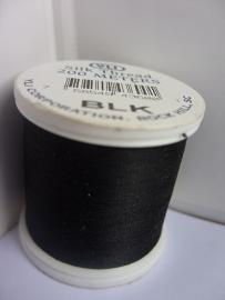 Silk YLI # 100 - nr. BLK