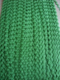 Zigzag 2 mm - Emerald (15)