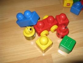 bouwstenen + karretje