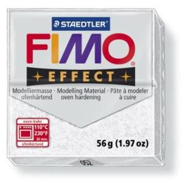 Fimo Effect - Wit glitter - 052