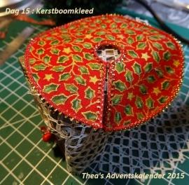 Kerstboomkleed (zelf maken)