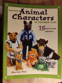 Boek: Making Animal Characters in Polymer Clay (2e hands)