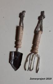 Tuinharkje en Schopje (zelf maken)