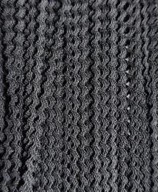 Zigzag 2 mm - Zwart (19)