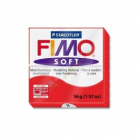 FIMO Soft - nr.24 - Indisch Rood