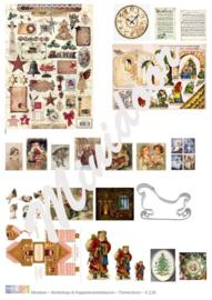 A4 Printvel: Kerstprintjes