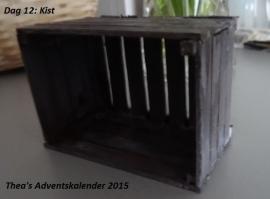 Houtpakketje voor het maken van de Kist