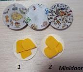 Plateau met stukjes kaas (5)