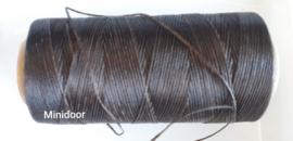 Wax-draad 0,8 mm - Donkerbruin