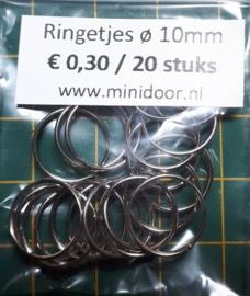 Ringetjes - ø 10 mm (Z)