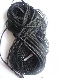 Knobbelband 25 - black