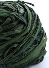 Raffia - groen