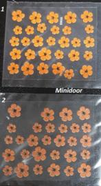 Decoratie materialen voor op de miniaturen