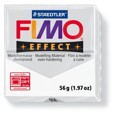 Fimo Effect - Transparant wit 014