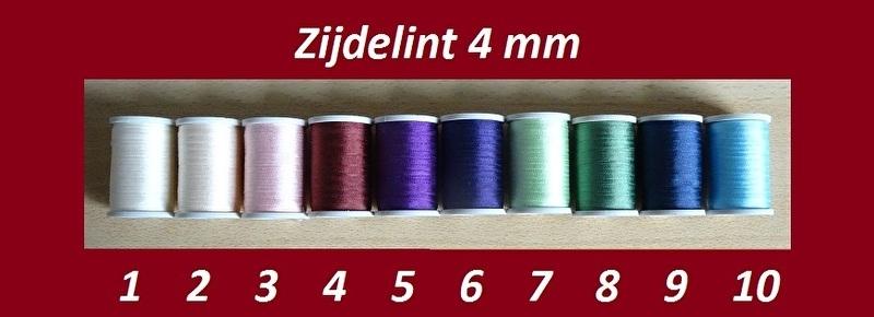 Zijdelint 4 mm (B) - 1, 2, 3 of 5 meter