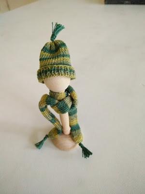 Gebreid Wintermutsje en sjaal