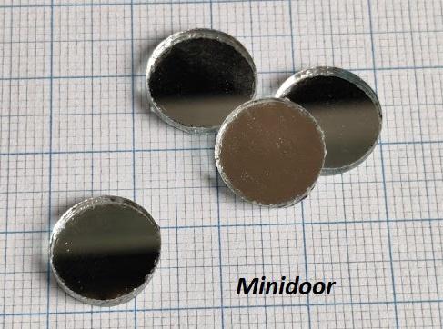 Spiegel - Rond ø 1,25 cm (glas)