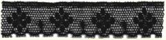 Fine English Lace 97 - Zwart