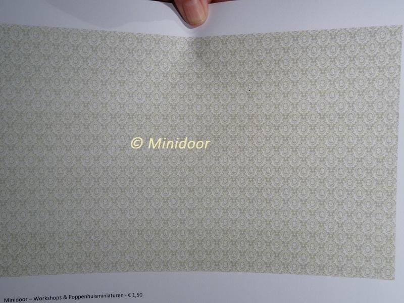 Behang: Groen Ovaal (A4 Printvel)