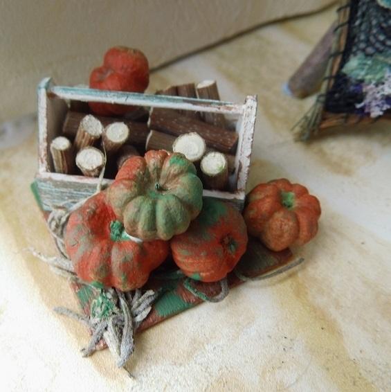 Verven van pompoenen (engelstalig)