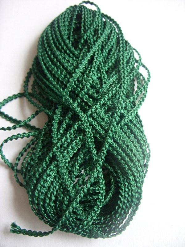 Knobbelband 23 - dark green