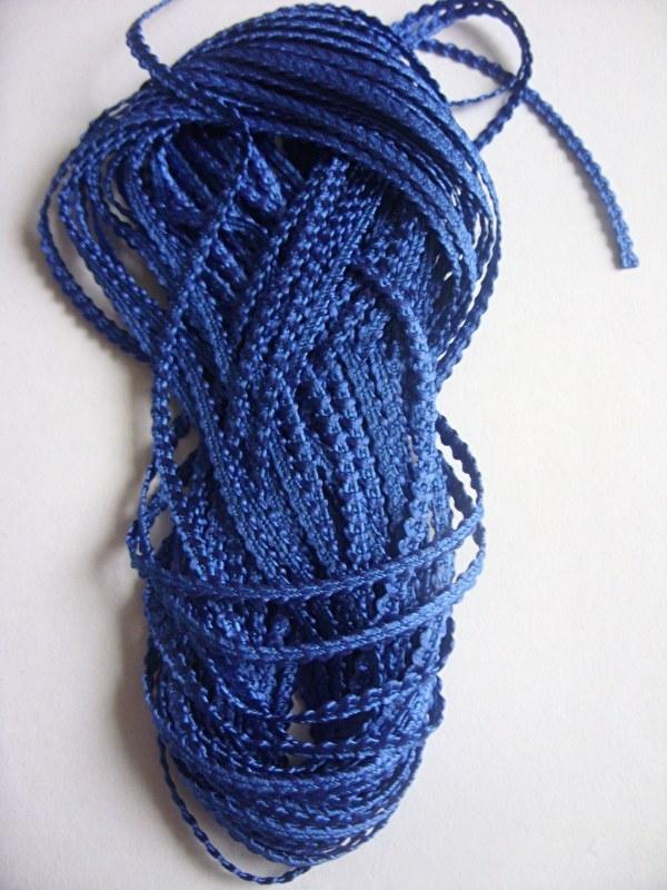 Knobbelband 17 - royal blue