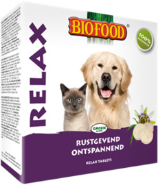 Biofood Relax gistsnoepjes 100st