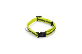 BZ Nylon Halsband Cabo Geel 20-30cm