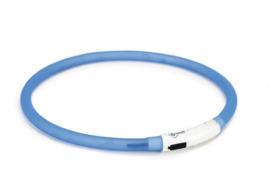 Beeztees Safety Gear USB Halsband Hond Blauw