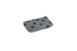 BZ Vetbed Bench voetprint grijs, vanaf