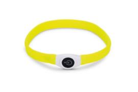 Beeztees Safety Gear Glowy Halsband Geel