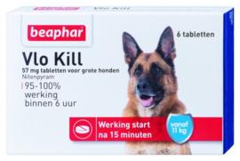Beaphar Vlo Kill Hond vanaf 11kg - Anti vlooienmiddel - 6 tab