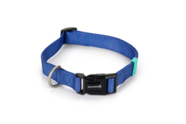 BZ Nylon Halsband Blauw 48-70cm