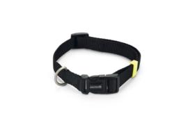 BZ Nylon Halsband Zwart 35-50cm