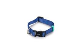 BZ Nylon Halsband Blauw 26-40cm