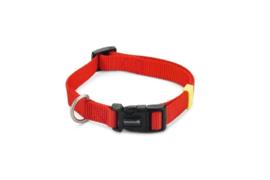BZ Nylon Halsband Rood 35-50cm