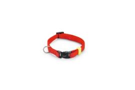 BZ Nylon Halsband Rood 20-30cm