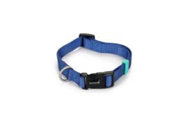 BZ Nylon Halsband Blauw 35-50cm
